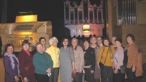 Поездка в Кондопогу на вечер органной музыки